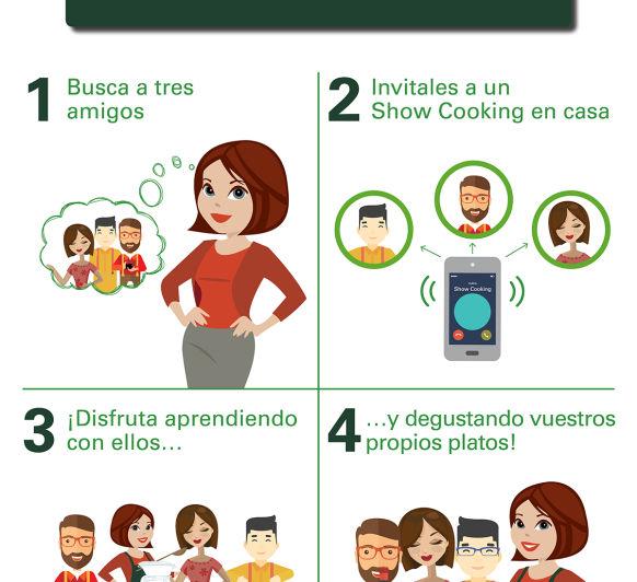 Nuevo show cooking: El plan Perfecto