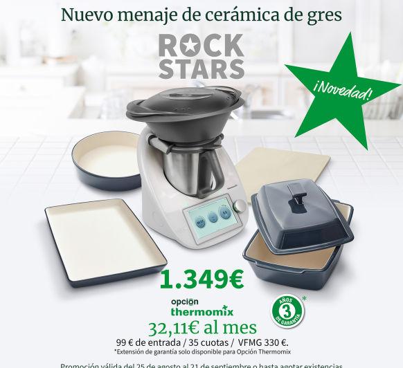Edición Rock Stars - Thermomix® Plasencia - coria - Cáceres