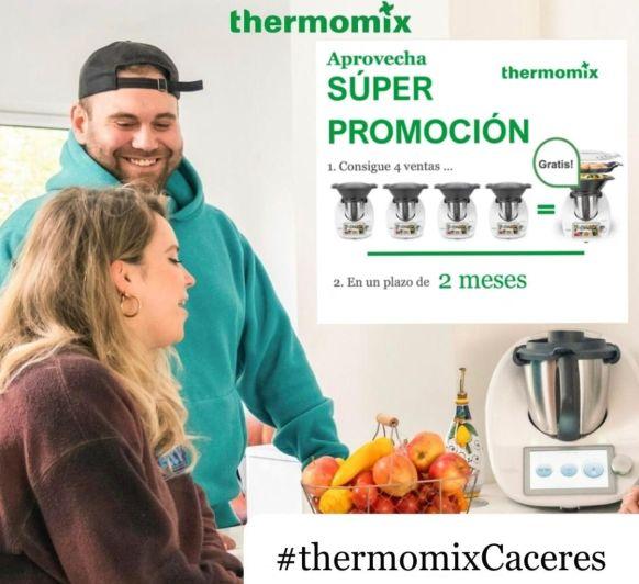 Thermomix® CACERES - VORWERK 4X1 GRATIS