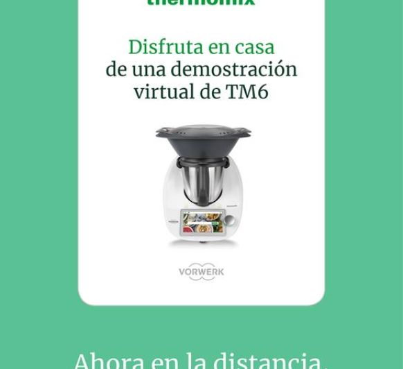 DEMO VIRTUAL DESDE CORIA CON Thermomix®