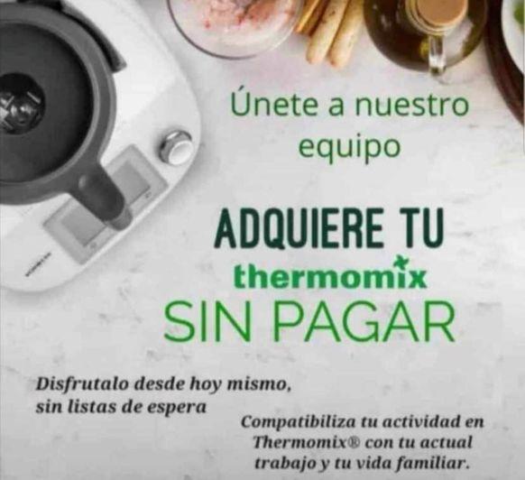 ADQUIERE TU Thermomix® SIN PAGAR