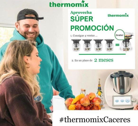Thermomix® 4×1 Es tu oportunidad!!